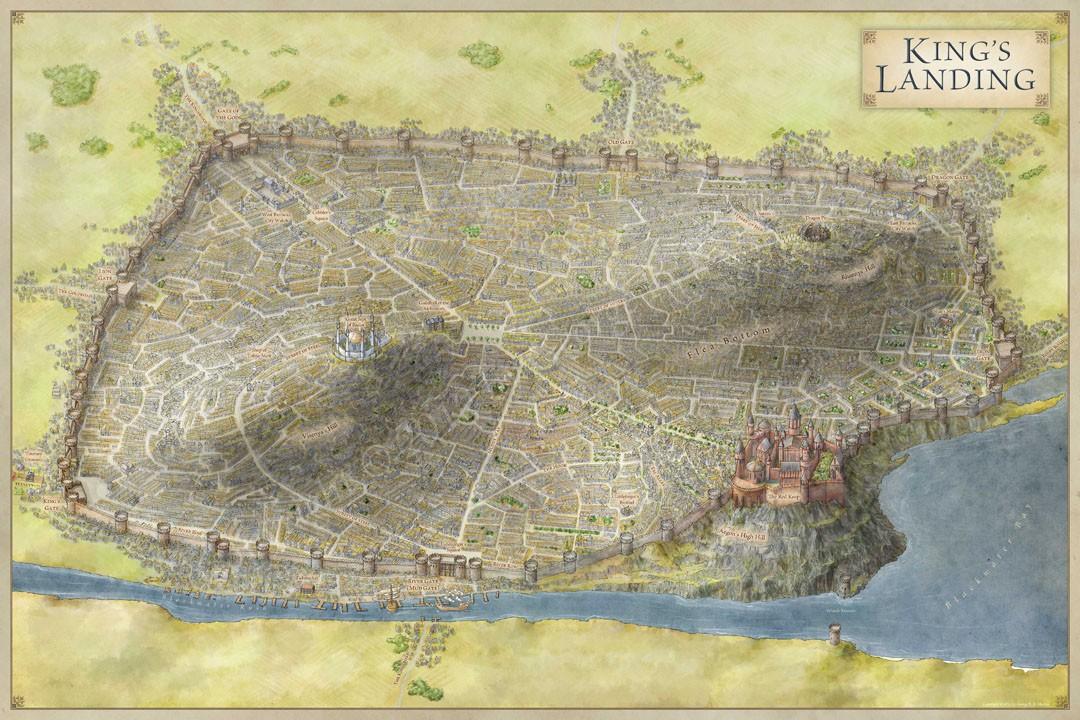 Chunky Render: Game of Thrones - King's Landing